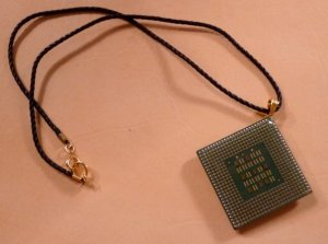 Pentium Processor Necklace